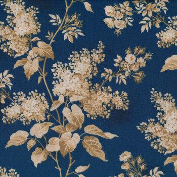 Blue Sky 8505-B Full Moon Lilacs by Edyta Sitar for Andover Fabrics