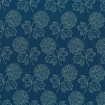 Blue Sky 8506-B Full Moon Cloud Nine by Edyta Sitar for Andover Fabrics