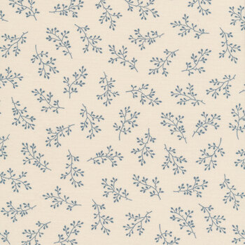 Blue Sky 8511-L Mountain Top Olive Branch by Edyta Sitar for Andover Fabrics
