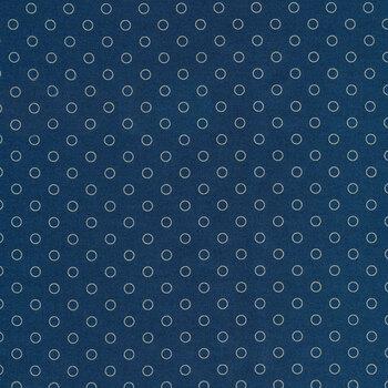 Blue Sky 8515-B Full Moon Bubbles by Edyta Sitar for Andover Fabrics