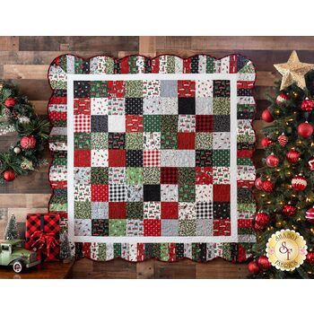 Holiday Charm Quilt Kit - Homegrown Holidays