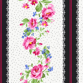 Pretty Sweet 20149-14 NATURAL by Robert Kaufman Fabrics