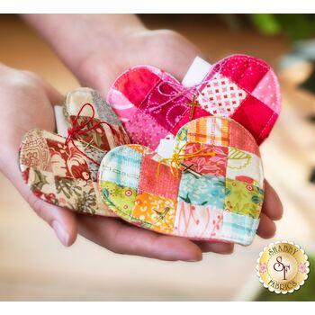 Patchwork Heart Pocket Prayer Quilt - PATTERN ONLY