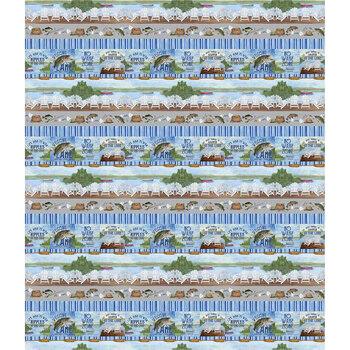 At The Lake C10555-Blue by Tara Reed for Riley Blake Designs