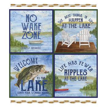 At The Lake P10556-Panel by Tara Reed for Riley Blake Designs