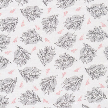Cherished Moments CM20203 Berry Branches White by Poppie Cotton