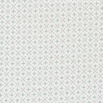 Cherished Moments CM20215 Retro Mini White by Poppie Cotton