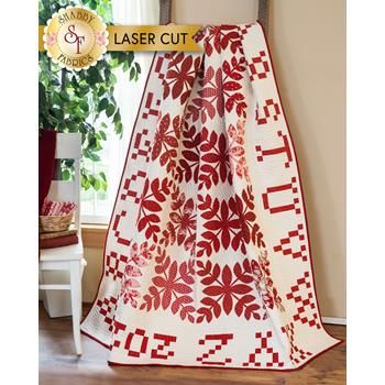A is for Apple Quilt Kit - Roselyn - Laser Cut