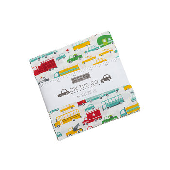 On The Go  Charm Pack by Stacy Iest Hsu for Moda Fabrics