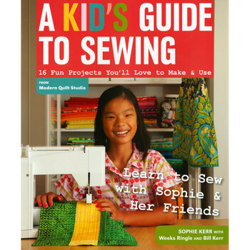 A Kid's Guide To Sewing Book