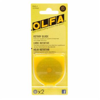 Olfa 45mm Rotary Blades - 2 count