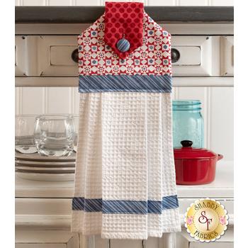 Hanging Towel Kit - Summertime - Red
