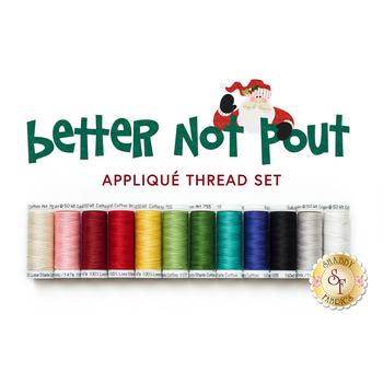 Better Not Pout Thread Set - 12pc Sulky Cotton Thread Set