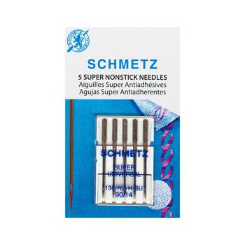 Schmetz Super Nonstick Needles - Size 90/14 - 5ct