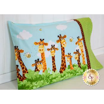 Zoe The Giraffe Pillowcase Kit - Standard Size