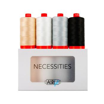 Aurifil Necessities - 4pc Thread Set