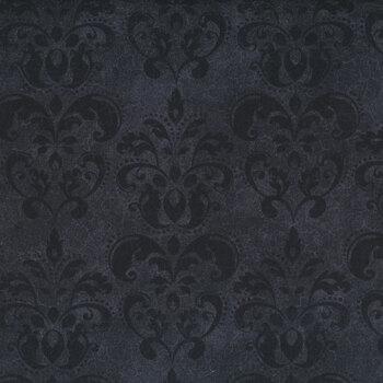 Black Cat Capers 24124-99 Black Tonal by Northcott Fabrics