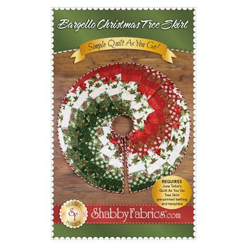 Bargello Christmas Tree Skirt Pattern