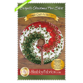 Bargello Christmas Tree Skirt - PDF Download