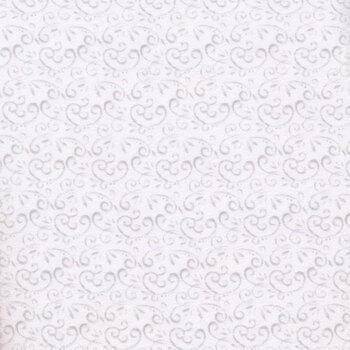 Snow Place Like Home Flannel F5708-09 White Swirl by Sharla Fults for Studio E Fabrics