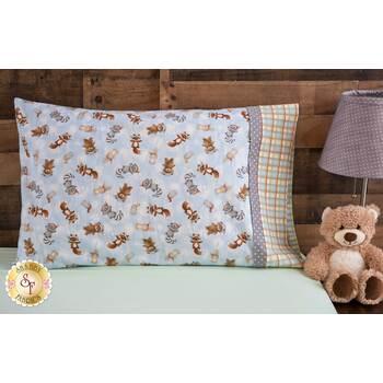 Magic Pillowcase Kit - Snow Day Flannel - Standard Size