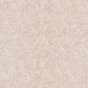 I Love Sn'Gnomies Flannel F9638-33 Beige Swirl by Shelly Comiskey for Henry Glass Fabrics
