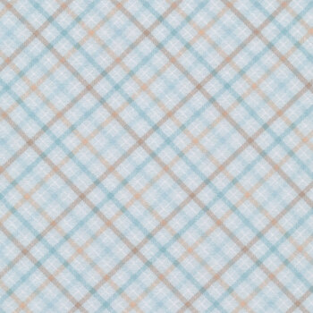I Love Sn'Gnomies Flannel F9639-13 Multi Bias Plaid by Shelly Comiskey for Henry Glass Fabrics