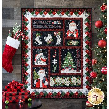 Farmhouse Christmas Panel Quilt Kit
