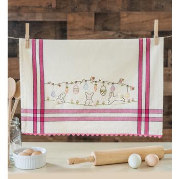 Vintage Kitchen Towel Kit - April - Easter