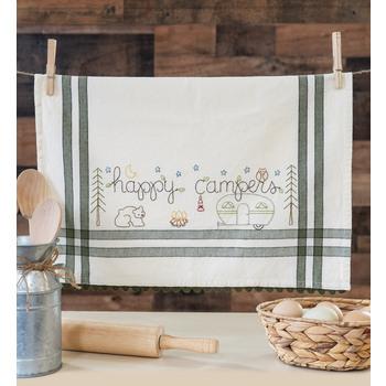 Vintage Kitchen Towel Kit - June - Happy Camper