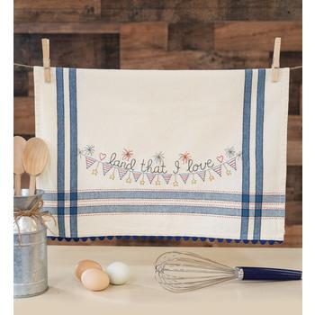 Vintage Kitchen Towel Kit - July - Land That I Love