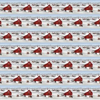 Horse Whisperer 5684-18 Multi Border Stripe by Studio E