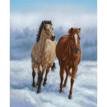Horse Whisperer 5686P-13 Horse Panel by Studio E