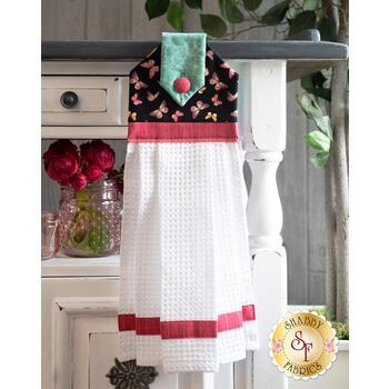 Hanging Towel Kit - Pink Garden - Pink