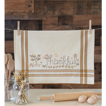 Vintage Kitchen Towel Kit - November - Thankful
