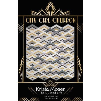 City Girl Chevron Pattern