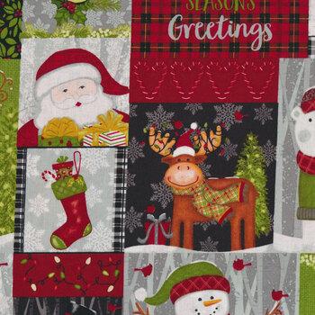 Snow Merry 5688-98 Multi Patch by Studio E Fabrics