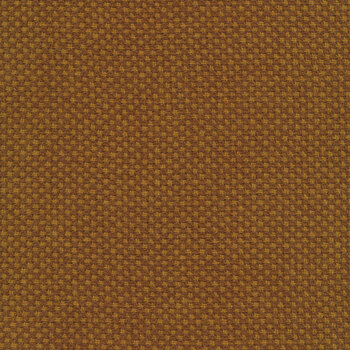 Woven Wools W1105-BROWNGOLD Diamond Brown Gold by Riley Blake Designs