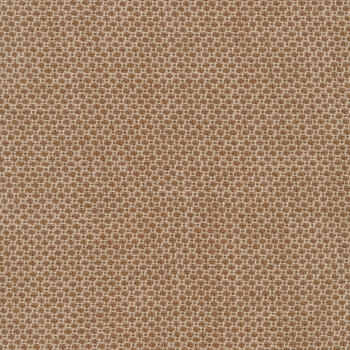 Woven Wools W1101-BROWN Dot Brown by Riley Blake Designs
