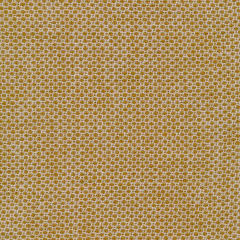 Woven Wools W1101-GOLD Dot Gold by Riley Blake Designs
