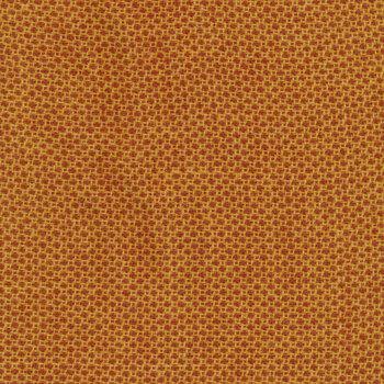 Woven Wools W1101-ORANGE Dot Orange by Riley Blake Designs