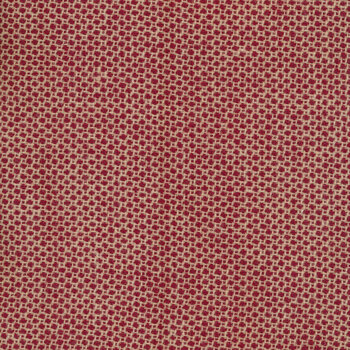 Woven Wools W1101-RED Dot Red by Riley Blake Designs