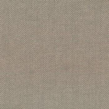 Woven Wools W1102-GRAY Herringbone Gray by Riley Blake Designs