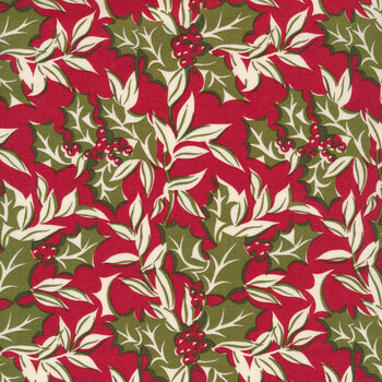 Christmas at Buttermilk Acres C10901-RED Winterberry Red by Riley Blake Designs