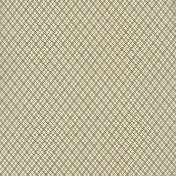 Christmas at Buttermilk Acres C10905-CREAMGREEN Plaid Cream Green by Riley Blake Designs
