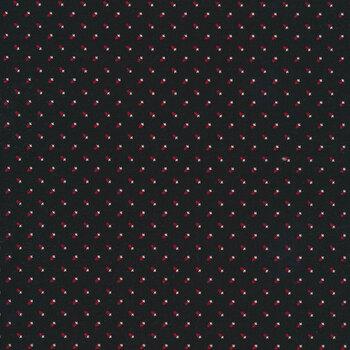 Christmas at Buttermilk Acres C10906-BLACK Shirting Black by Riley Blake Designs