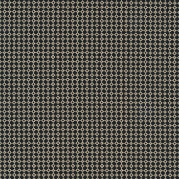 Christmas at Buttermilk Acres C10908-BLACK Checkers Black by Riley Blake Designs
