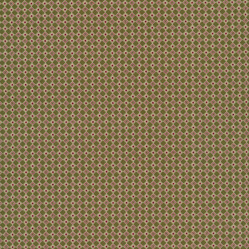 Christmas at Buttermilk Acres C10908-GREEN Checkers Green by Riley Blake Designs