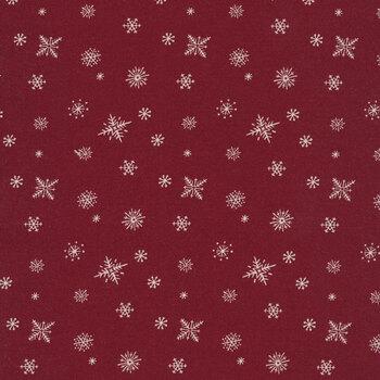 Christmas at Buttermilk Acres C10909-BRICK Snowflakes Brick by Riley Blake Designs