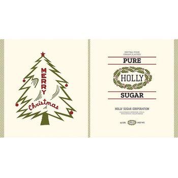 Christmas at Buttermilk Acres CV10911-PANEL Tea Towel Canvas Panel by Riley Blake Designs